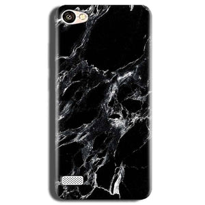 Oppo Neo 7 Mobile Covers Cases Pure Black Marble Texture - Lowest Price - Paybydaddy.com