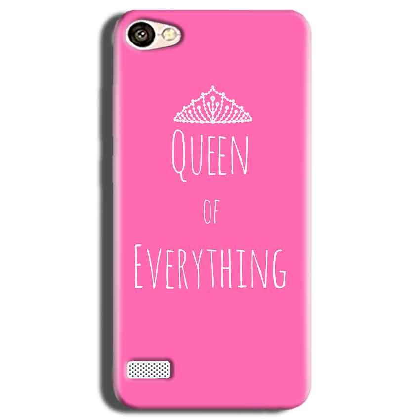Oppo Neo 7 Mobile Covers Cases Queen Of Everything Pink White - Lowest Price - Paybydaddy.com