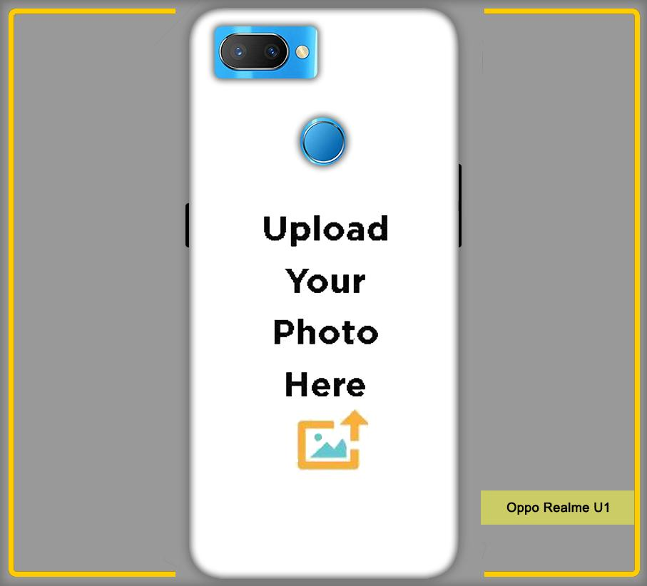 Oppo Realme U1 Photo & Text Phone Photo Back Cover - Paybydaddy