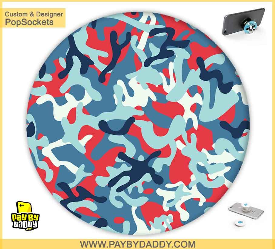 PopSockets Grip - Army Camo #2  makes expanding device grips and mounts. Use them for gripping, propping, cord management, and just looking good. Use your PopSockets 50 % Discount On Sale | Free and Fast Shipping