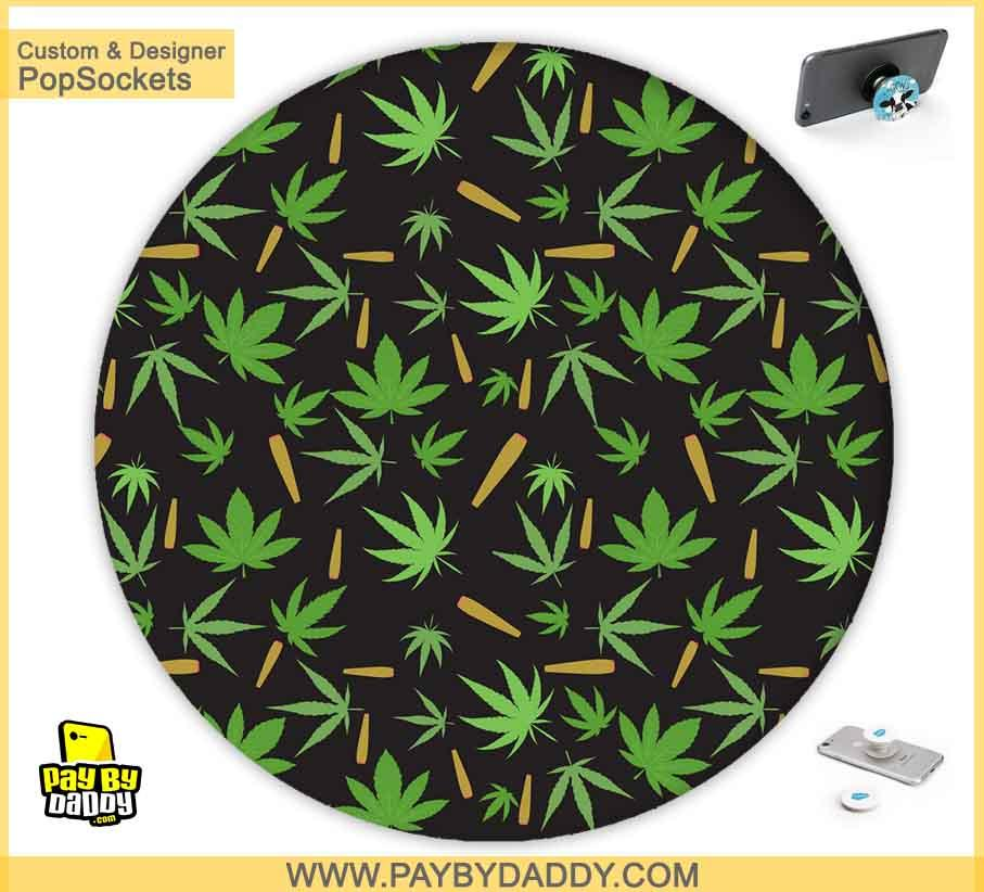 PopSockets Grip - Marijuana Cannabis Leaves #3  makes expanding device grips and mounts. Use them for gripping, propping, cord management, and just looking good. Use your PopSockets 50 % Discount On Sale | Free and Fast Shipping