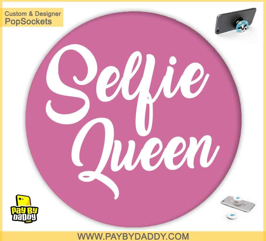 PopSockets Grip - Selfie Queen #2  makes expanding device grips and mounts. Use them for gripping, propping, cord management, and just looking good. Use your PopSockets 50 % Discount On Sale | Free and Fast Shipping