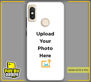 Customized Xiaomi Redmi Note 5 Pro Mobile Phone Covers & Back Covers with your Text & Photo