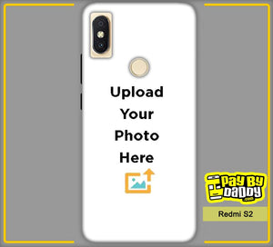 Customized Xiaomi Redmi S2 Mobile Phone Covers & Back Covers with your Text & Photo