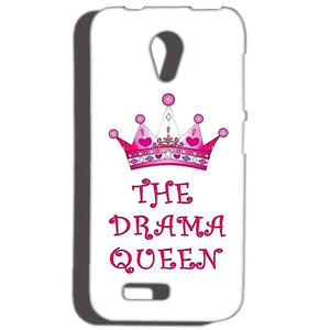 Reliance LYF Flame 2 Mobile Covers Cases Drama Queen - Lowest Price - Paybydaddy.com