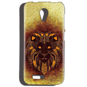Reliance LYF Flame 2 Mobile Covers Cases Lion face art - Lowest Price - Paybydaddy.com