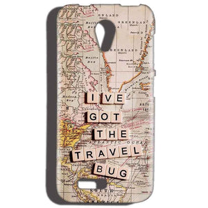 Reliance LYF Flame 2 Mobile Covers Cases Live Travel Bug - Lowest Price - Paybydaddy.com