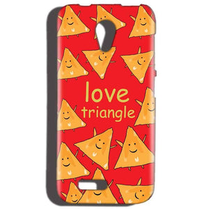 Reliance LYF Flame 2 Mobile Covers Cases Love Triangle - Lowest Price - Paybydaddy.com