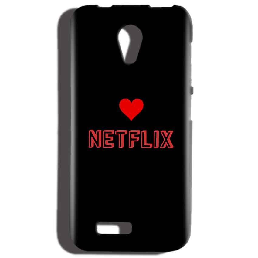 Reliance LYF Flame 2 Mobile Covers Cases NETFLIX WITH HEART - Lowest Price - Paybydaddy.com