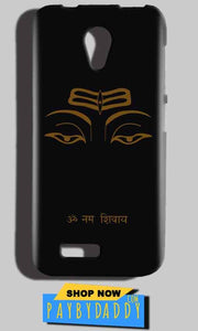 Reliance LYF Flame 2 Mobile Covers Cases Om Namaha Gold Black - Lowest Price - Paybydaddy.com