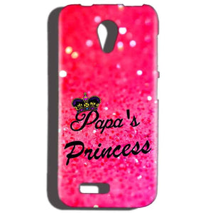 Reliance LYF Flame 2 Mobile Covers Cases PAPA PRINCESS - Lowest Price - Paybydaddy.com