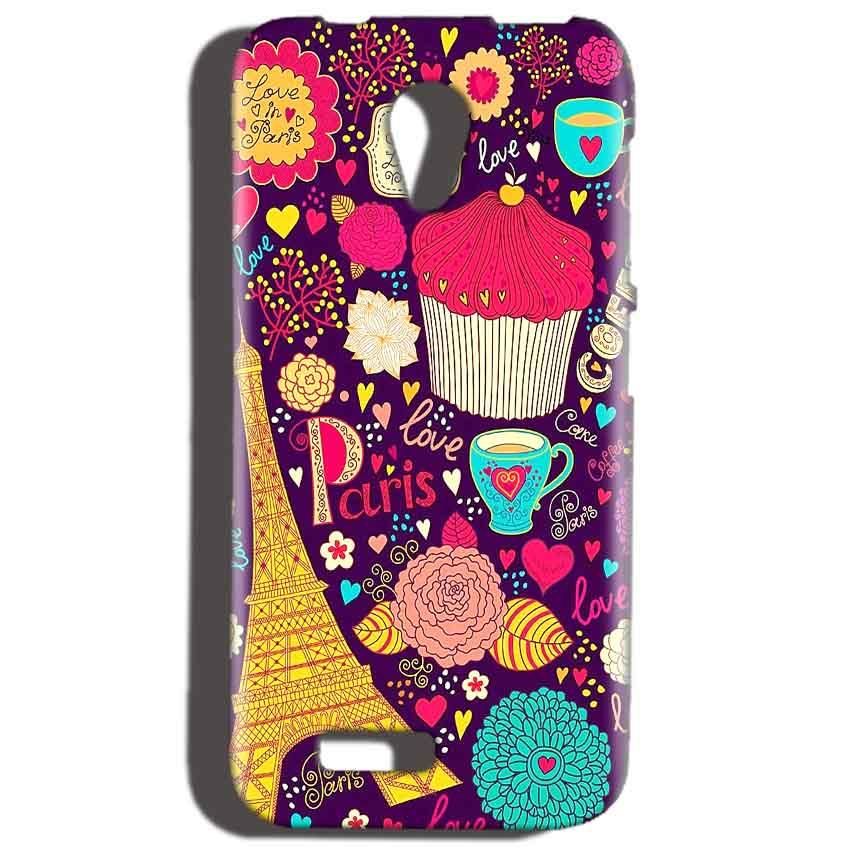 Reliance LYF Flame 2 Mobile Covers Cases Paris Sweet love - Lowest Price - Paybydaddy.com