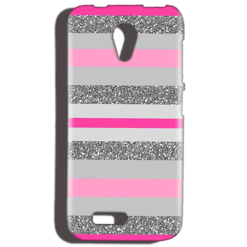 Reliance LYF Flame 2 Mobile Covers Cases Pink colour pattern - Lowest Price - Paybydaddy.com