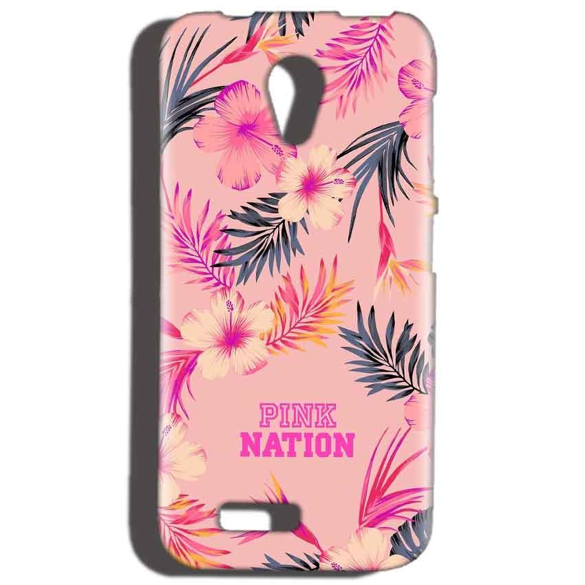 Reliance LYF Flame 2 Mobile Covers Cases Pink nation - Lowest Price - Paybydaddy.com