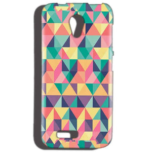 Reliance LYF Flame 2 Mobile Covers Cases Prisma coloured design - Lowest Price - Paybydaddy.com