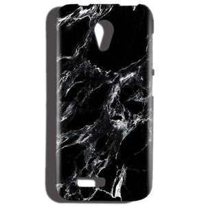 Reliance LYF Flame 2 Mobile Covers Cases Pure Black Marble Texture - Lowest Price - Paybydaddy.com