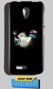 Reliance LYF Flame 2 Mobile Covers Cases Shiva Aghori Smoking - Lowest Price - Paybydaddy.com