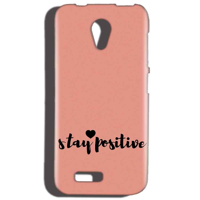 Reliance LYF Flame 2 Mobile Covers Cases Stay Positive - Lowest Price - Paybydaddy.com
