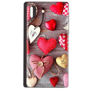 Reliance LYF Water 1 Mobile Covers Cases Hearts- Lowest Price - Paybydaddy.com
