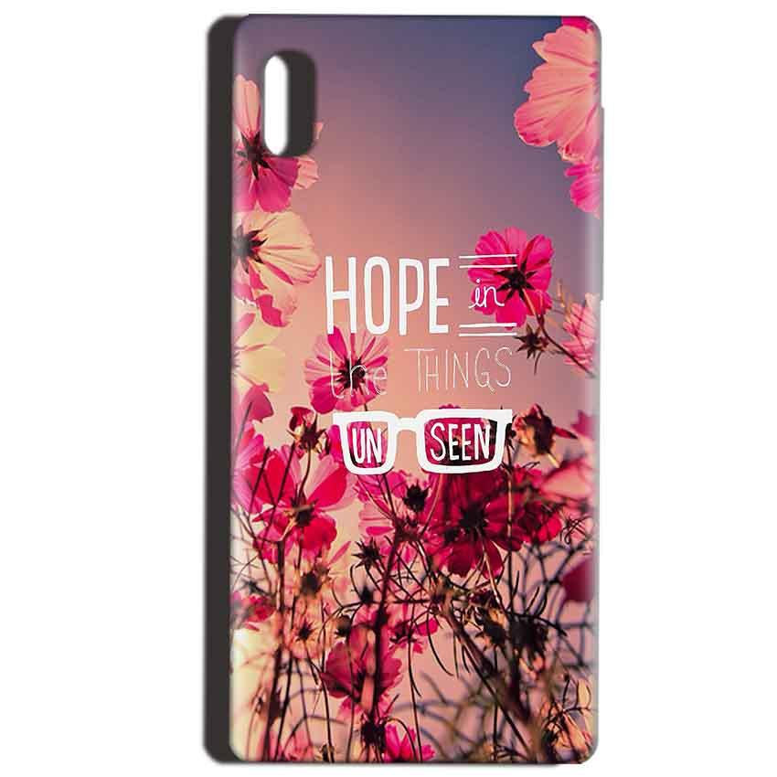 Reliance LYF Water 1 Mobile Covers Cases Hope in the Things Unseen- Lowest Price - Paybydaddy.com