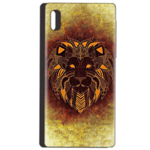 Reliance LYF Water 1 Mobile Covers Cases Lion face art - Lowest Price - Paybydaddy.com