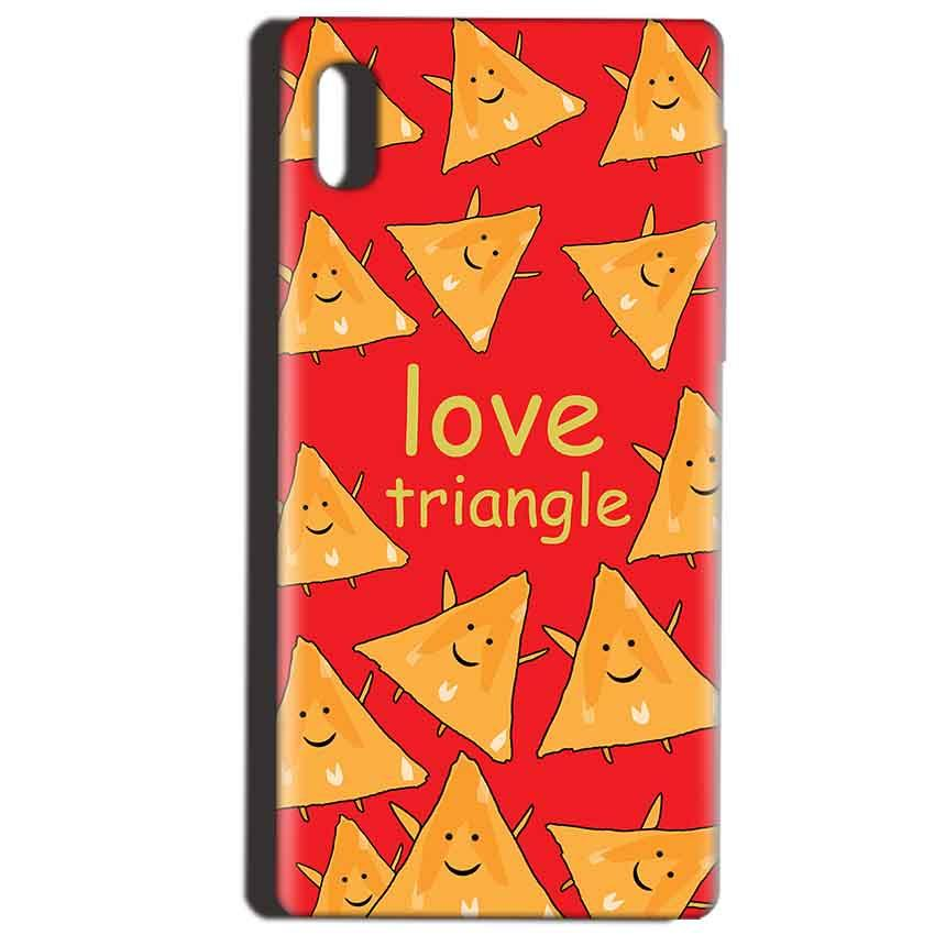 Reliance LYF Water 1 Mobile Covers Cases Love Triangle - Lowest Price - Paybydaddy.com