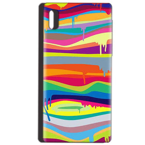 Reliance LYF Water 1 Mobile Covers Cases Melted colours - Lowest Price - Paybydaddy.com
