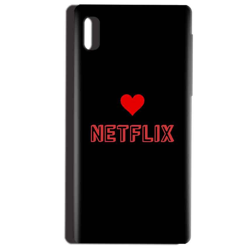Reliance LYF Water 1 Mobile Covers Cases NETFLIX WITH HEART - Lowest Price - Paybydaddy.com
