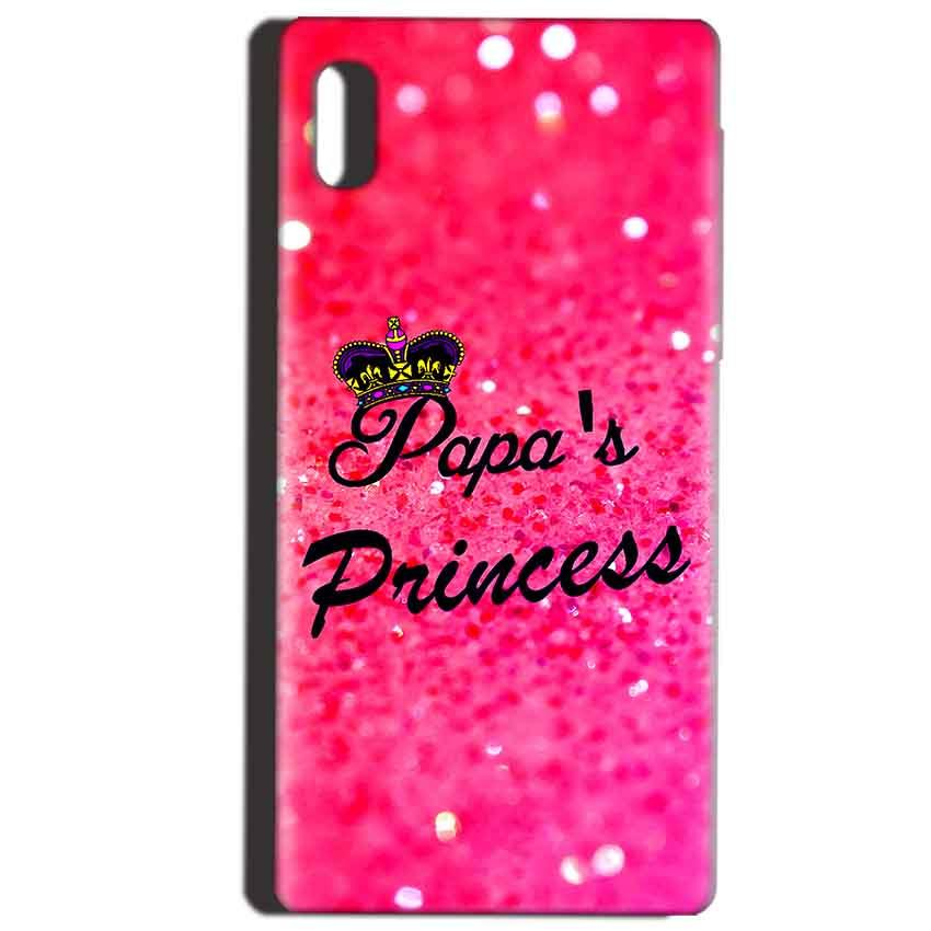 Reliance LYF Water 1 Mobile Covers Cases PAPA PRINCESS - Lowest Price - Paybydaddy.com