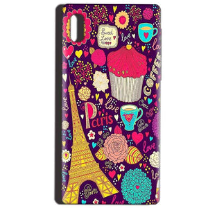 Reliance LYF Water 1 Mobile Covers Cases Paris Sweet love - Lowest Price - Paybydaddy.com