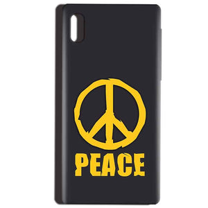 Reliance LYF Water 1 Mobile Covers Cases Peace Blue Yellow - Lowest Price - Paybydaddy.com