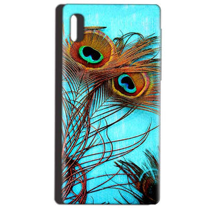 Reliance LYF Water 1 Mobile Covers Cases Peacock blue wings - Lowest Price - Paybydaddy.com