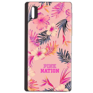 Reliance LYF Water 1 Mobile Covers Cases Pink nation - Lowest Price - Paybydaddy.com