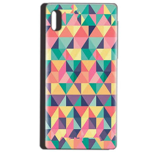 Reliance LYF Water 1 Mobile Covers Cases Prisma coloured design - Lowest Price - Paybydaddy.com