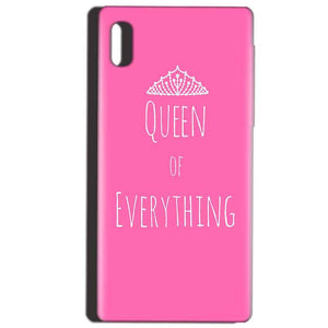 Reliance LYF Water 1 Mobile Covers Cases Queen Of Everything Pink White - Lowest Price - Paybydaddy.com