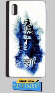 Reliance LYF Water 1 Mobile Covers Cases Shiva Blue White - Lowest Price - Paybydaddy.com