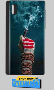 Reliance LYF Water 1 Mobile Covers Cases Shiva Hand With Clilam - Lowest Price - Paybydaddy.com
