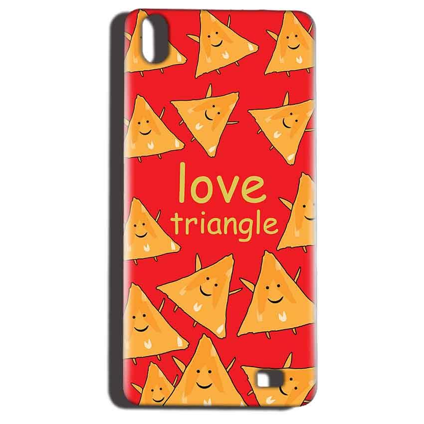 Reliance LYF Water 6 Mobile Covers Cases Love Triangle - Lowest Price - Paybydaddy.com