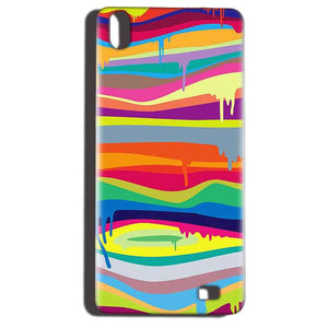 Reliance LYF Water 6 Mobile Covers Cases Melted colours - Lowest Price - Paybydaddy.com