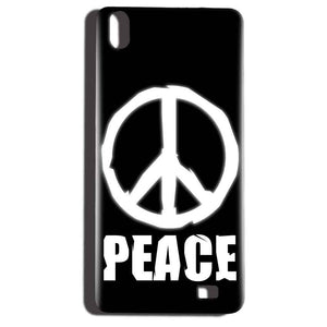 Reliance LYF Water 6 Mobile Covers Cases Peace Sign In White - Lowest Price - Paybydaddy.com