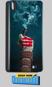 Reliance LYF Water 6 Mobile Covers Cases Shiva Hand With Clilam - Lowest Price - Paybydaddy.com