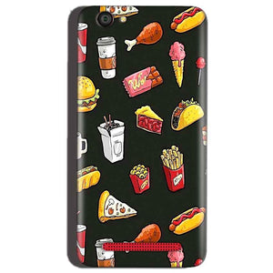 Reliance Lyf Flame 1 Mobile Covers Cases Foodie Design - Lowest Price - Paybydaddy.com