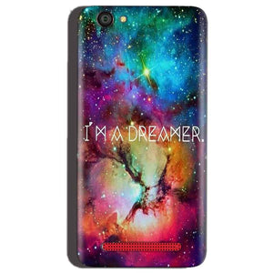 Reliance Lyf Flame 1 Mobile Covers Cases I am Dreamer - Lowest Price - Paybydaddy.com