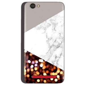 Reliance Lyf Flame 1 Mobile Covers Cases MARBEL GLITTER - Lowest Price - Paybydaddy.com