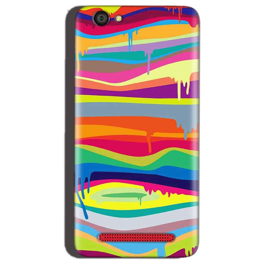Reliance Lyf Flame 1 Mobile Covers Cases Melted colours - Lowest Price - Paybydaddy.com