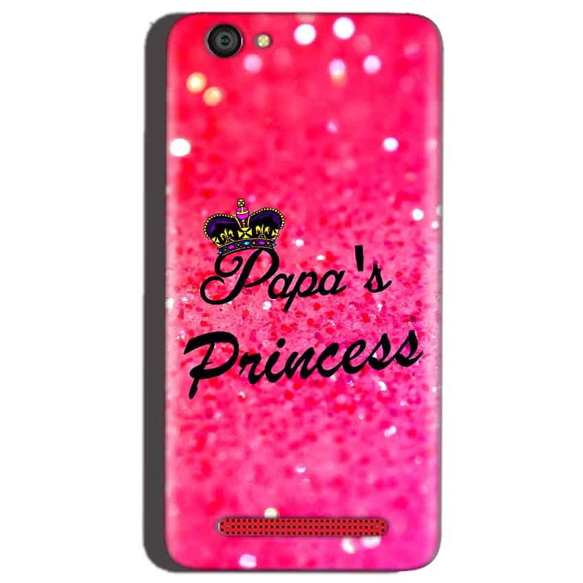 Reliance Lyf Flame 1 Mobile Covers Cases PAPA PRINCESS - Lowest Price - Paybydaddy.com