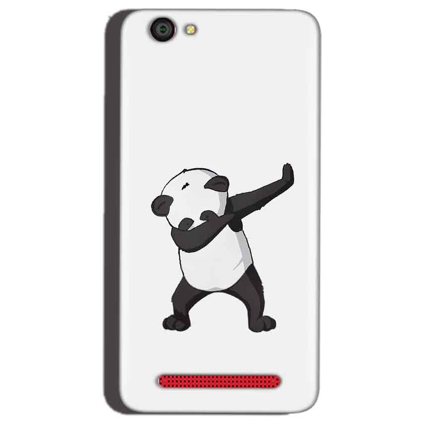 Reliance Lyf Flame 1 Mobile Covers Cases Panda Dab - Lowest Price - Paybydaddy.com