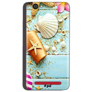 Reliance Lyf Flame 1 Mobile Covers Cases Pearl Star Fish - Lowest Price - Paybydaddy.com
