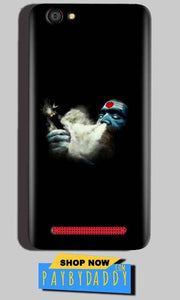 Reliance Lyf Flame 1 Mobile Covers Cases Shiva Aghori Smoking - Lowest Price - Paybydaddy.com