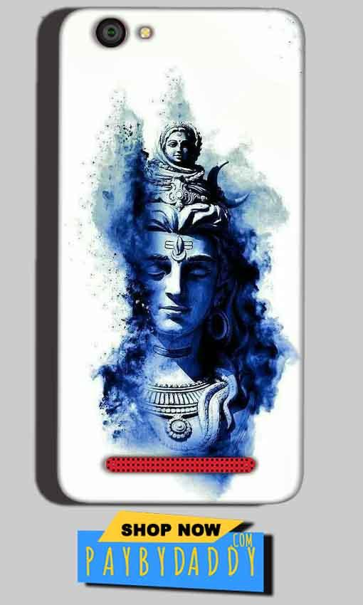 Reliance Lyf Flame 1 Mobile Covers Cases Shiva Blue White - Lowest Price - Paybydaddy.com